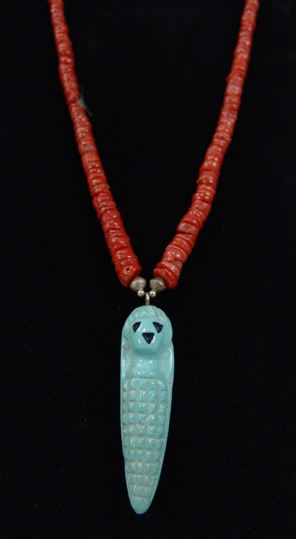 8: Zuni Pendant Necklace