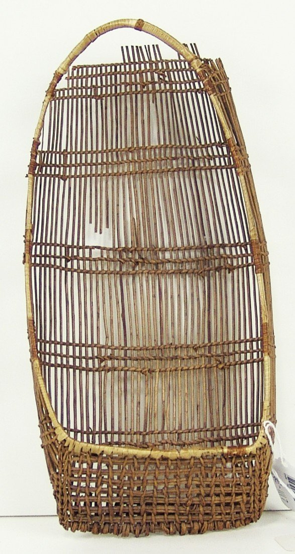 14: Hupa Basketry Cradle