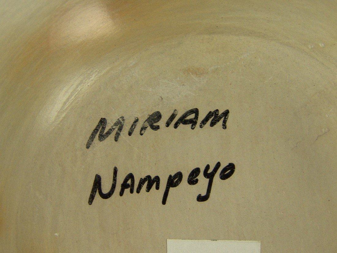 20: Hopi Pottery Jar- Miriam Nampeyo - 5