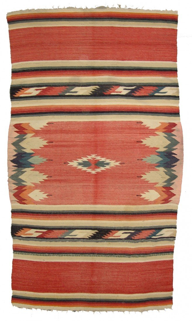 25: Mexican Rug/Weaving