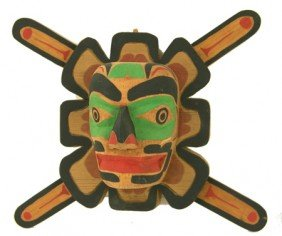 Northwest Coast Cedar Mask - Ed Raub