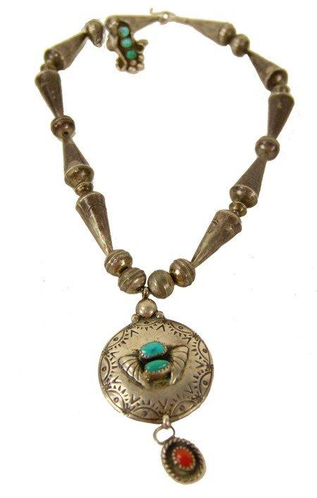 124: Navajo  Necklace