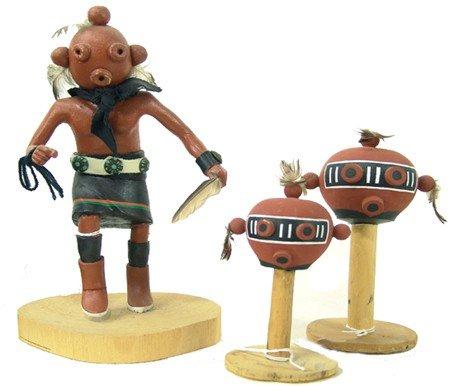 137: Hopi Katsina Carvings