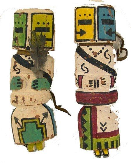 140: 2 Katsina Carvings