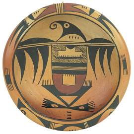Hopi Pottery Bowl - Nampeyo Family