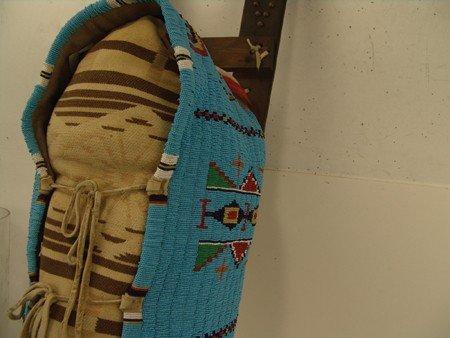 Cheyenne Beaded Cradleboard - 3