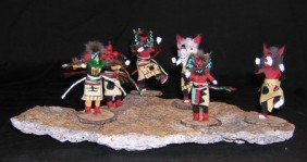 6 Miniature Katsinas