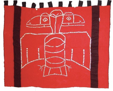 Northwest Coast Button Blanket