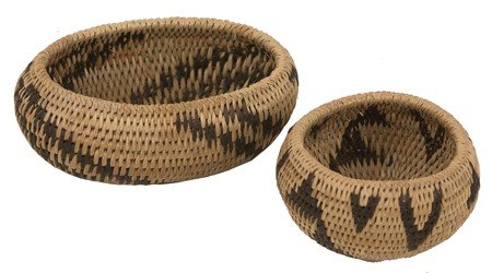 2 Pomo Baskets