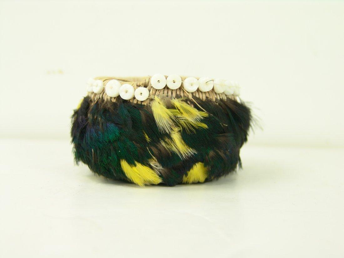 13: Pomo Feather Basket