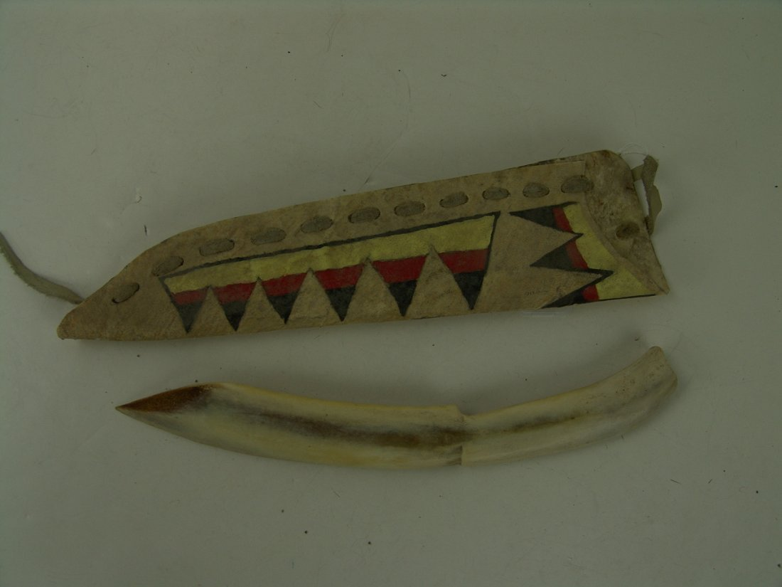 18: Apache Knife and Scabbard