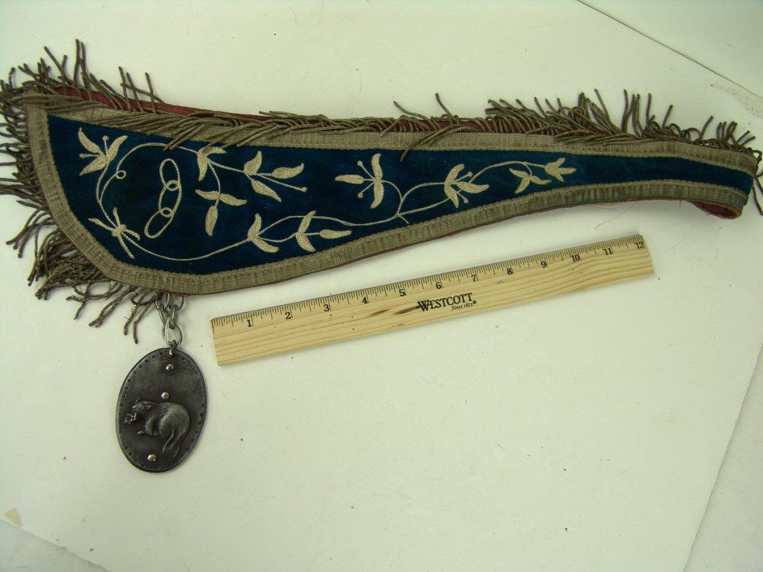 20: Fraternal Medallion Sash - 2