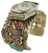 81: Navajo Watch Bracelet- R. Benally