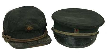 100: Two Antique Fraternal Hats