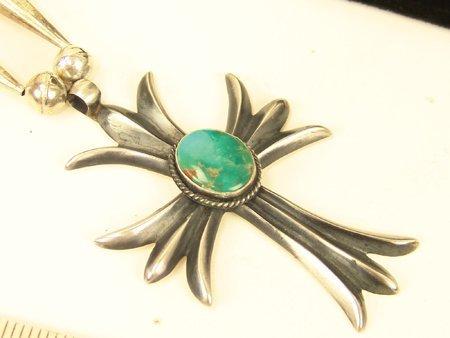 111: Navajo Cross Necklace - HB - 3