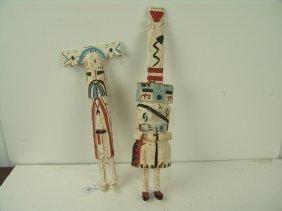 2 Hopi Katsinas