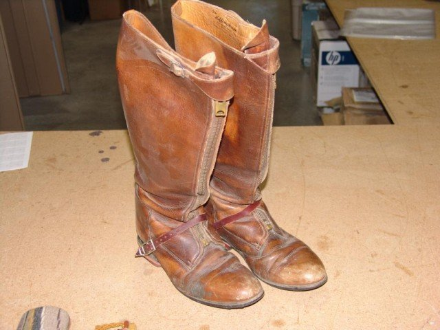 132: Antique Boots and Spurs