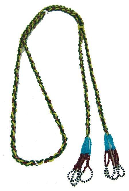 137: Blackfoot Bead Necklace
