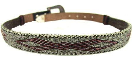 138: Vintage Horsehair Belt