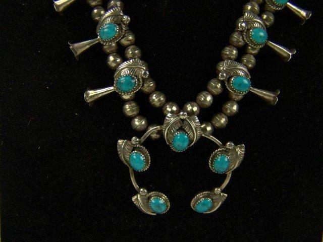 404: Navajo Squash Blossom Necklace