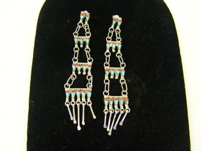 409: Zuni Earrings