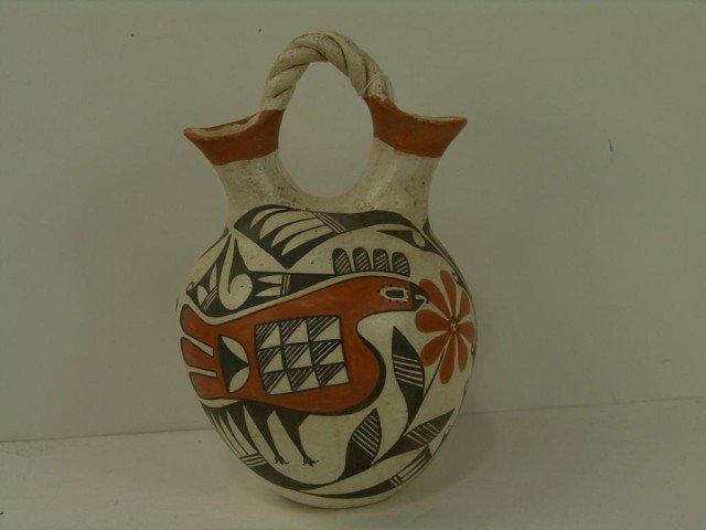 417: Acoma Wedding Vase