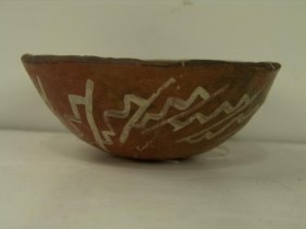"Zuni ""Red Polychrome"" Bowl"