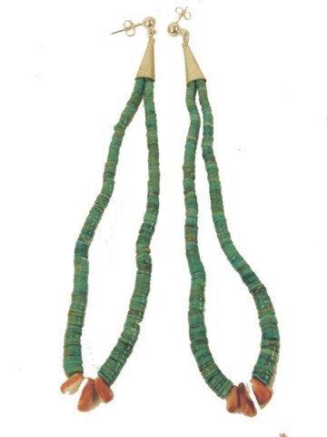 464: Navajo Earrings