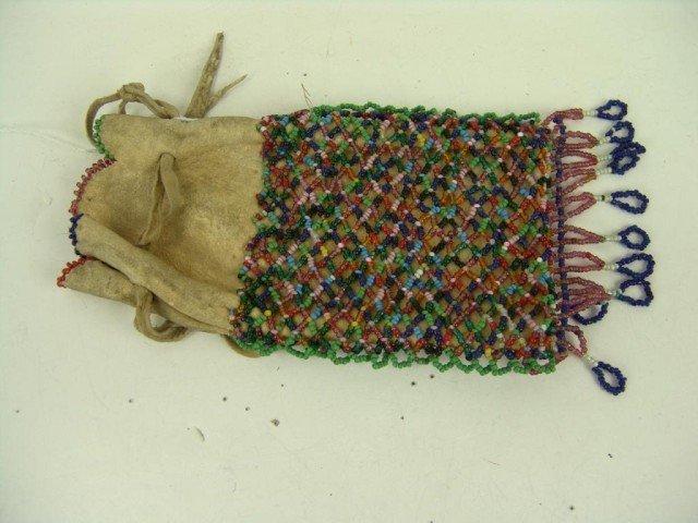 468: Apache Beaded Bag