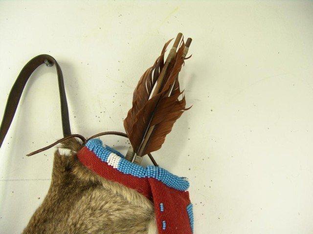 475: Mountain Lion Quiver and Arrows - 10