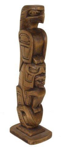 Northwest Coast Totem Pole- D. Dawson