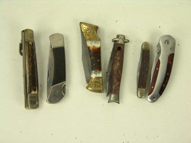 547: Bag of Pocket Knives
