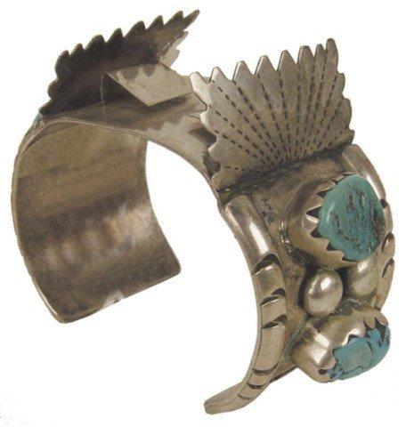 549: Navajo Watch Bracelet - Eddy Bayuka