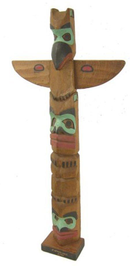 564: Northwest Coast Totem Pole - K. Woodcock