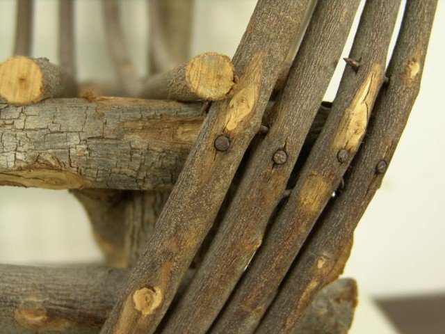 571: Antique Childs Chair - 3