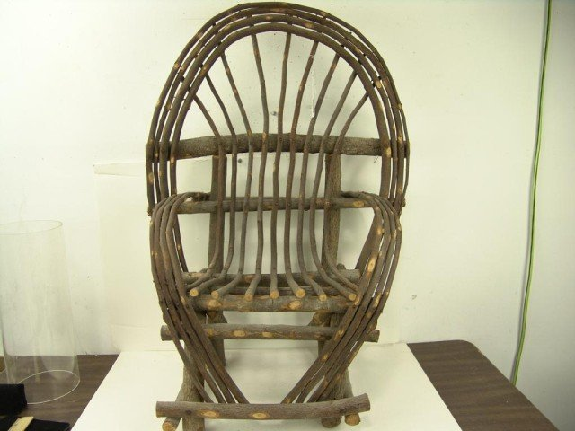 571: Antique Childs Chair - 4