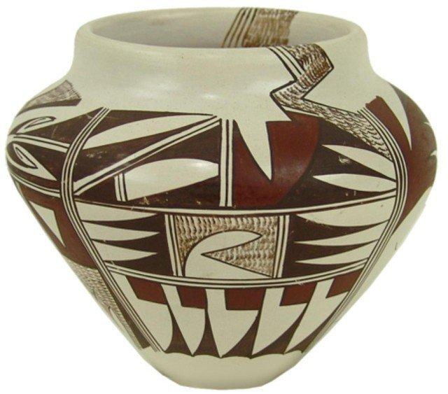 13: Hopi Pottery Jar - Marianne Navasie