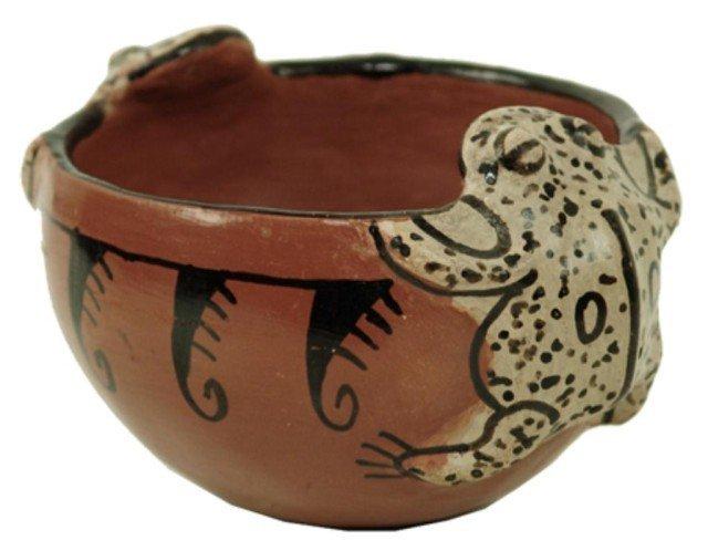 24: Maricopa Pottery Bowl - Barbara Johnson