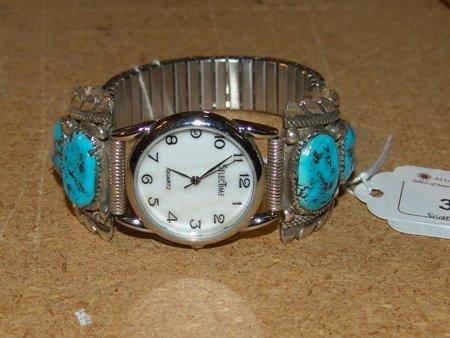 Zuni Watch Band - Bernice Leekity