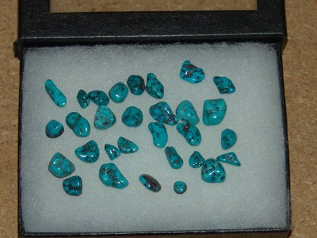 Turquoise Cabazons