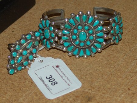 Zuni Bracelet and Ring Set