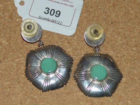 Navajo Earrings - CRJ Little Yellow Horse