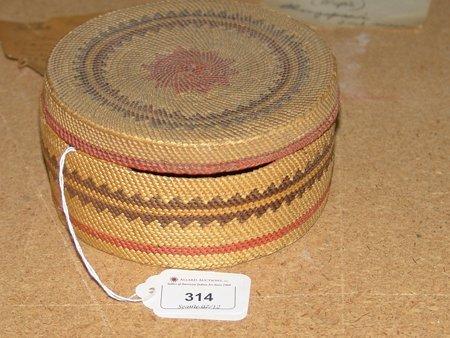 Makah Treasure Basket