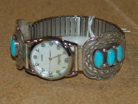 Navajo Watchband - R. Tom