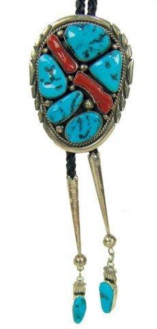 6: Navajo Bolo Tie- Mary Ann Spencer