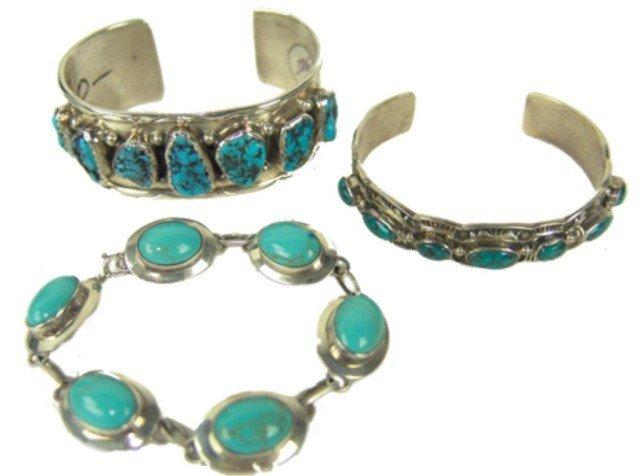 7: Navajo Jewelry Lot