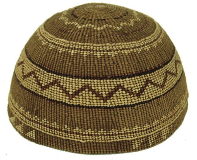14: Karuk Basket Hat