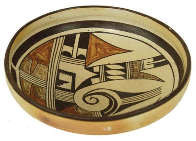 22: Hopi Pottery Bowl