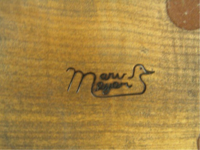 323: Carved Duck Decoy - Marv Meyer - 5