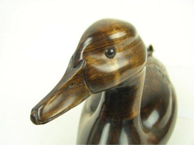 323: Carved Duck Decoy - Marv Meyer - 6